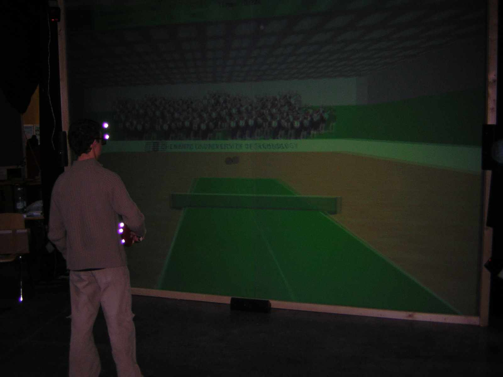 Virtual Reality Tischtennis